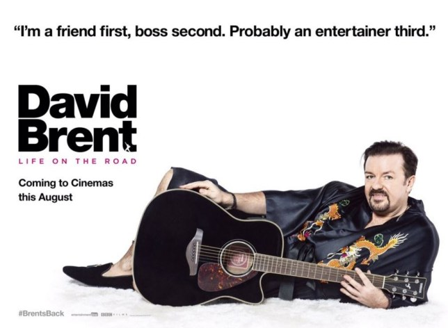 David Brent returns in Life on The Road (Picture: EOne)