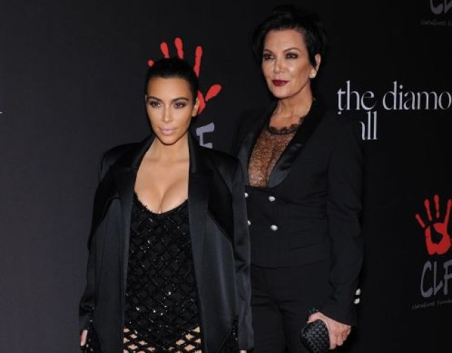 Kim Kardashian and Kris Jenner arrives for the 1st Annual Diamond Ball held at The Vineyard in Beverly Hills, California, USA on 11th December 2014. ECEWH2 Beverly Hills, California, USA. 11th Dec, 2014. Kim Kardashian & Kris Jenner arrives for the 1st Annual Diamond Ball held at The Vineyard. Lisa O'Connor/ZUMA Wire/Alamy Live News