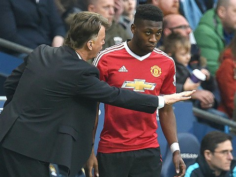 Timothy Fosu-Mensah hopes Louis van Gaal stays at Manchester United