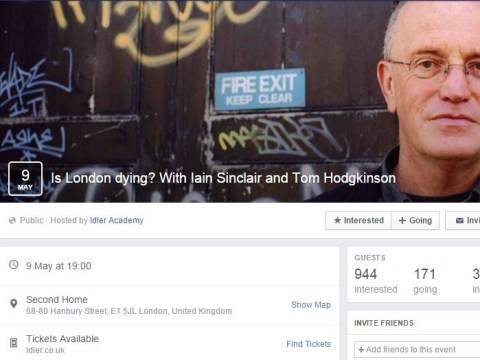 Gentrification debate to be held in East London, but the ticket price will surprise you