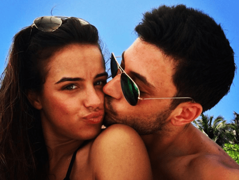 Georgia May Foote and Giovanni Pernice holiday snaps will make you pretty jealous