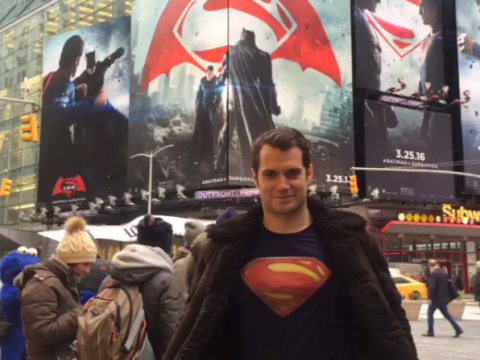 'Superman' Henry Cavill dresses as Superman in Times Square – goes unrecognised