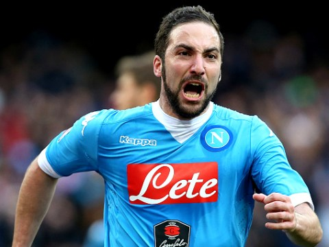 Manchester United to bid £62.2m for Gonzalo Higuain transfer