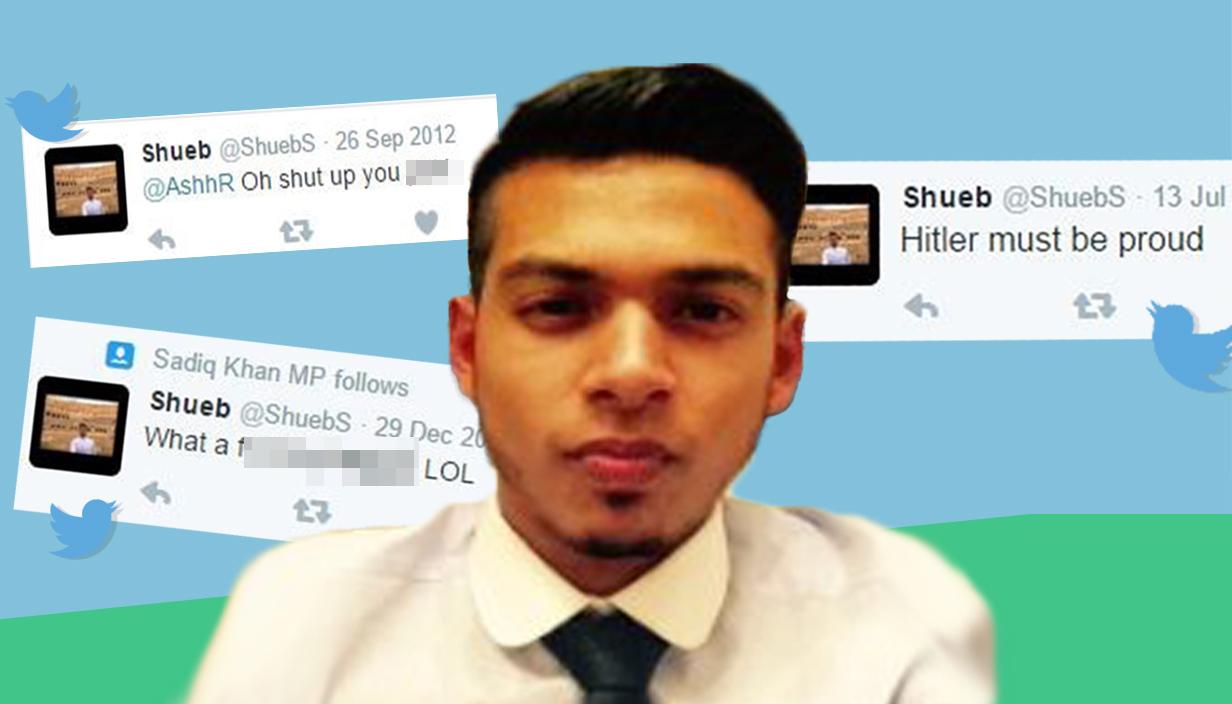 Sadiq Khan suspends aide over alleged 'homophobic, sexist, racist' tweets