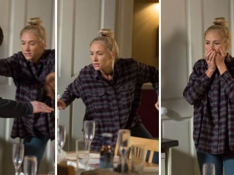 EastEnders spoilers: Baby Ollie's life is put in danger as Nancy and Lee's fighting spirals out of control