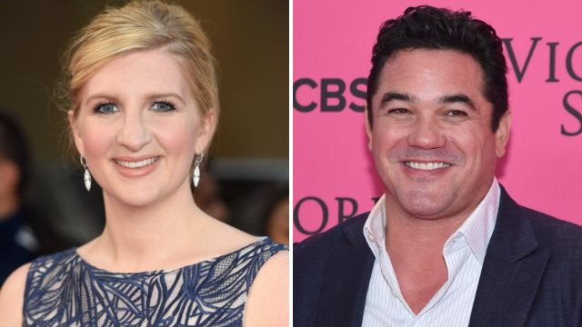 Rebecca Adlington admitted being 'starstruck' when she first met The Jump co-star Dean Cain