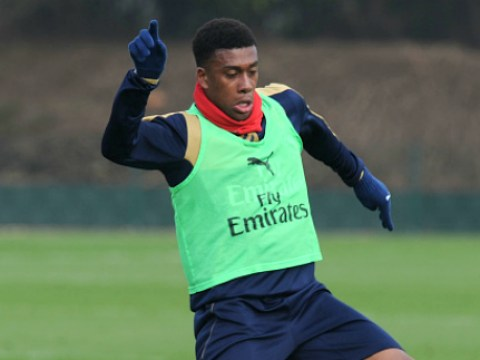 Arsenal's Alex Iwobi in hospital after falling ill on international duty
