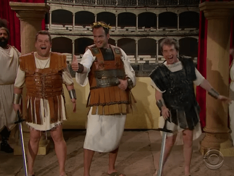 Watch James Corden, Martin Short and Will Arnett put an inappropriate spin on classic films