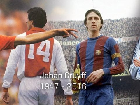 Johan Cruyff dead: Football legend dies from cancer aged 68