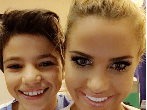 Katie Price's son Junior tells her she's had too much surgery on Loose Women kids special