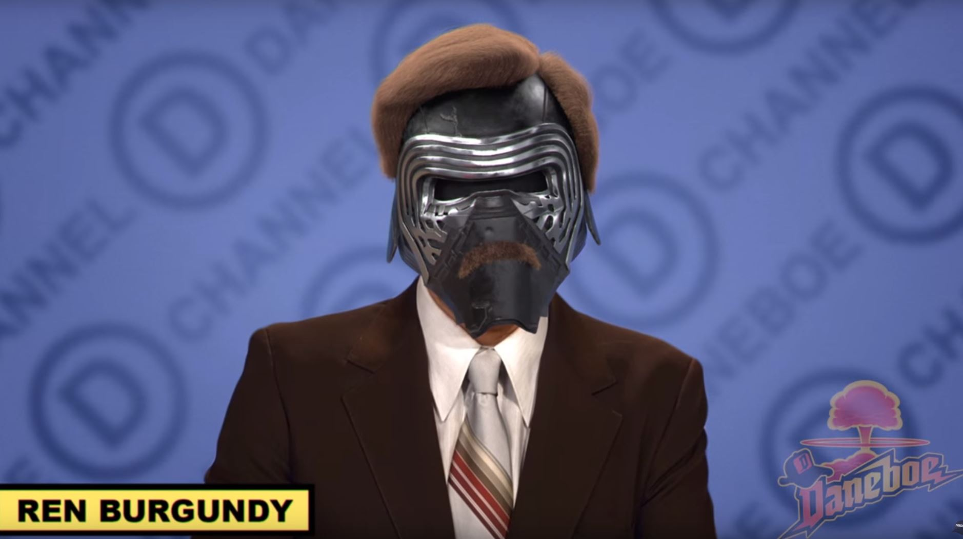 Kylo Ren has been edited into some of Hollywood's most iconic films