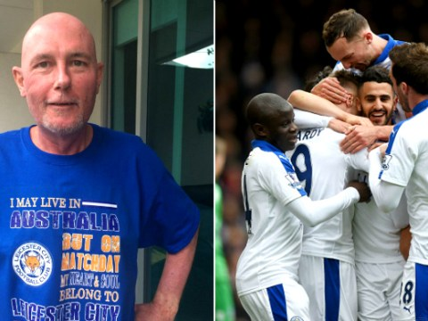 Terminally ill Leicester fan says team's great form is keeping him alive