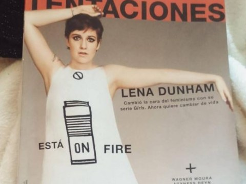 Lena Dunham slams Spanish magazine for heavily re-touching her body