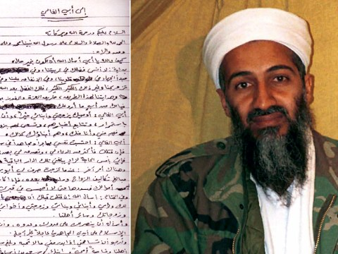 No prizes for guessing what Osama Bin Laden's will requested
