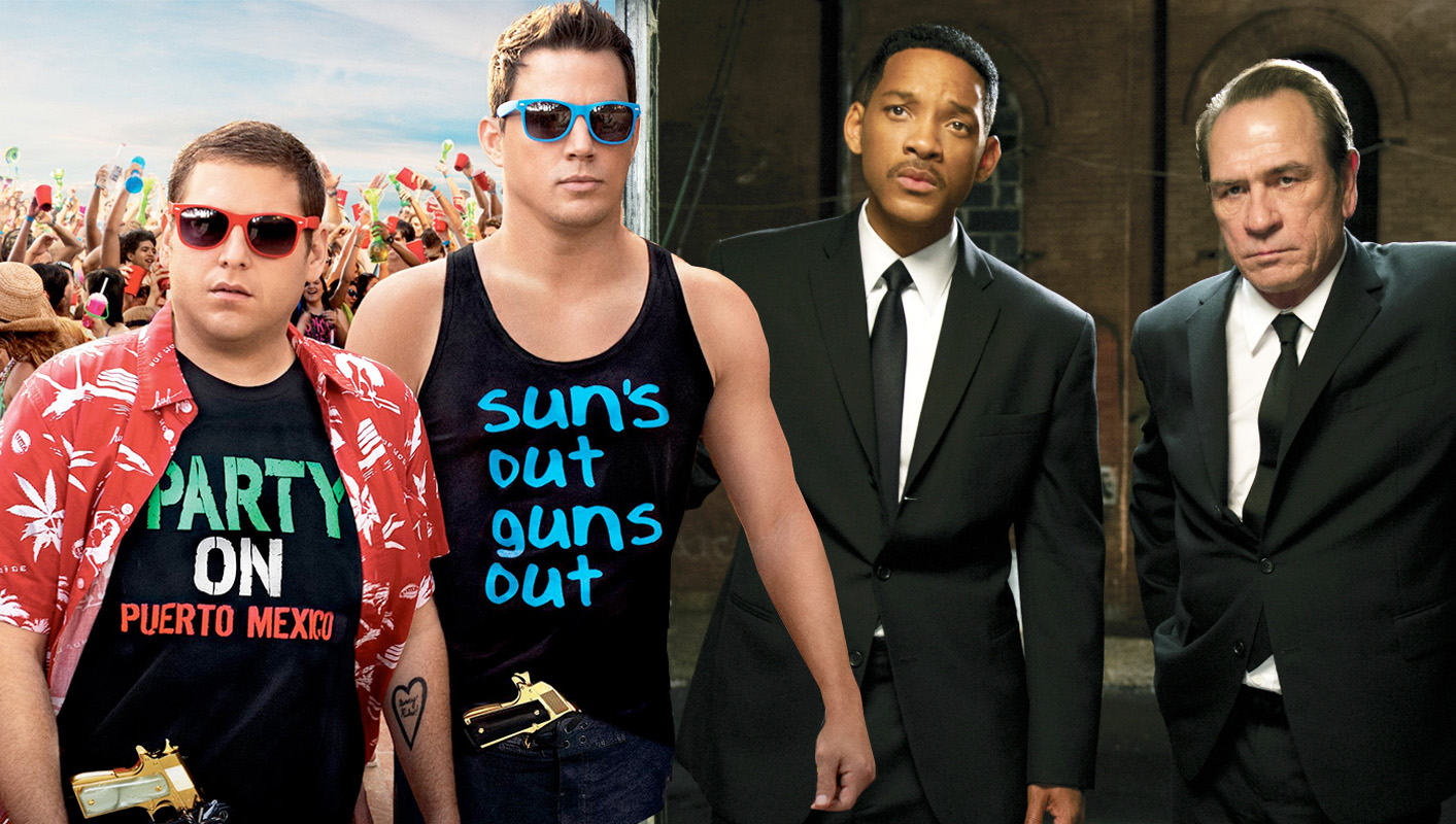 That 21 Jump Street / Men In Black crossover is happening and now it even has a name