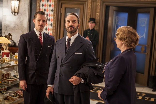 ITV STUDIOS PRESENTS MR SELFRIDGE SERIES 4 EPISODE 10 Pictured: GREG AUSTIN as Gordon Selfridge and JEREMY PIVEN as Harry Selfridge. This image is the copyright of ITV and must only be used in relation to MR SELFRIDGE.