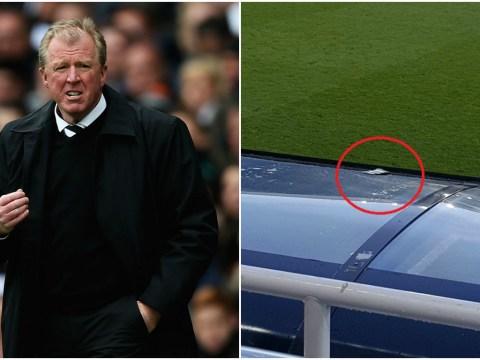 Furious Newcastle United fan throws season ticket at Steve McClaren