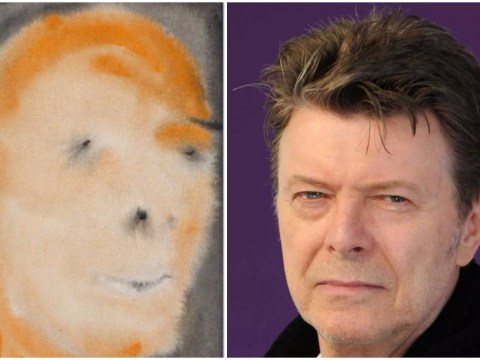 David Bowie's very rare but fairly dodgy self-portrait is going up for auction