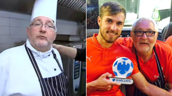 Arsenal chef Rob Fagg jokes he's cooking lasagne to poison Tottenham