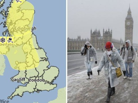 Sorry Londoners – the Met Office has lifted snow warnings for the weekend