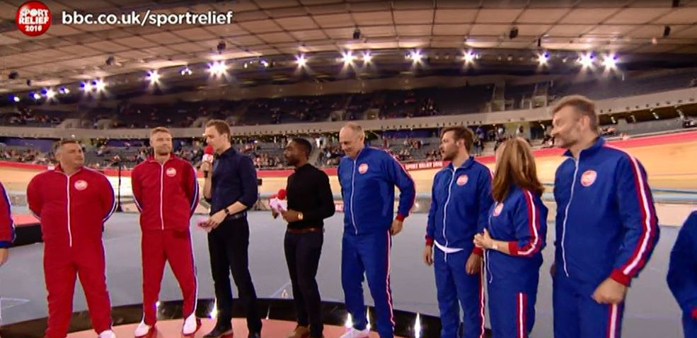 'Where are all the people?' Viewers notice something missing from Sport Relief – the audience