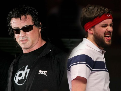 Sylvester Stallone says Jack Whitehall has 'created insulting lies' and he never met him at the Oscars