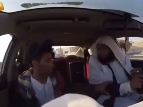 Watch: Suicide bomber taxi prank terrifies passengers in Saudi Arabia
