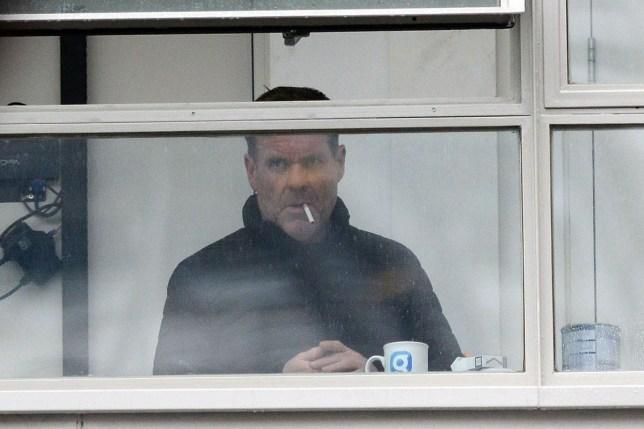 MIDNIGHT EMBARGO Chris Moyles Smoking