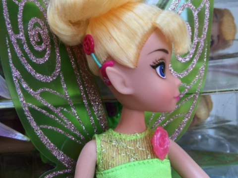 #ToyLikeMe's Tinkerbelle doll with cochlear implants shows the importance of representing children with disabilities