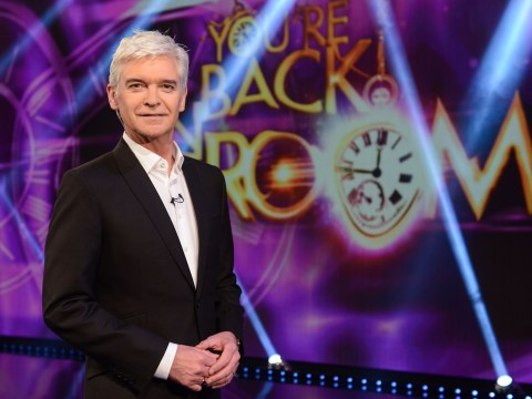 Phillip Schofield had a £2,000 suit ruined with ketchup while filming You're Back In The Room