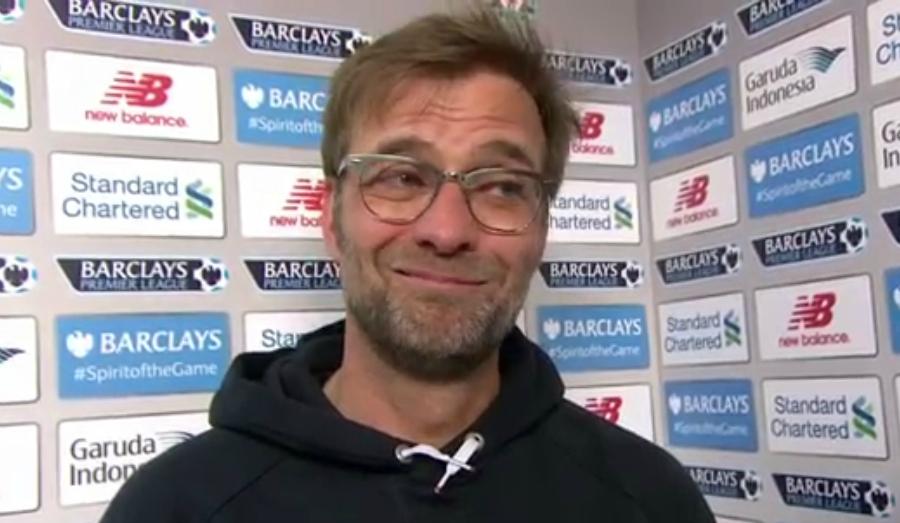 Jurgen Klopp gives brilliant post-match interview after Liverpool win over Manchester City