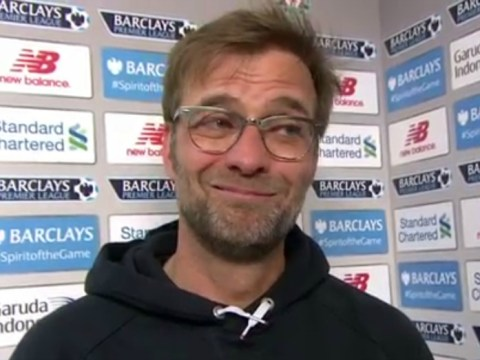 Jurgen Klopp gives brilliant post-match interview after Liverpool win over Manchester City