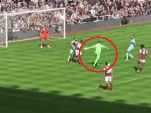 West Ham goalie Adrian scores class goal in Mark Noble's testimonial