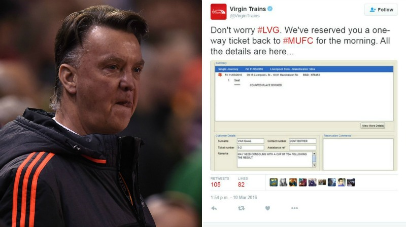 Manchester United News: Van Gaal Trolled On Twitter By