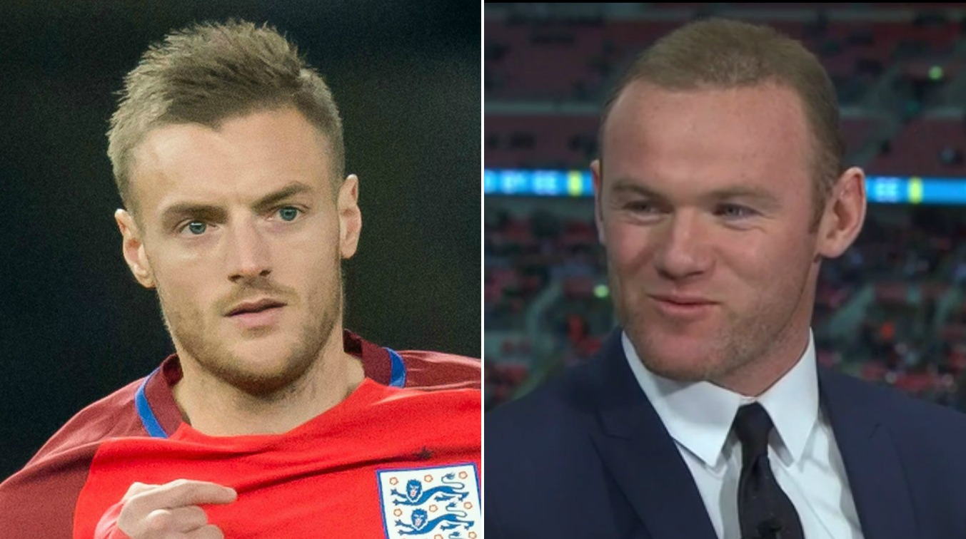 Wayne Rooney admits his son asked for England shirt with Jamie Vardy on the back
