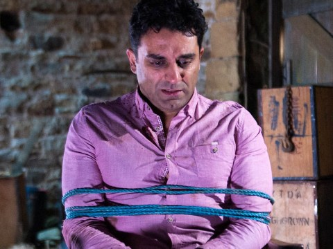 Emmerdale spoilers: Cain Dingle takes Rakesh Kotecha hostage – will he go too far?
