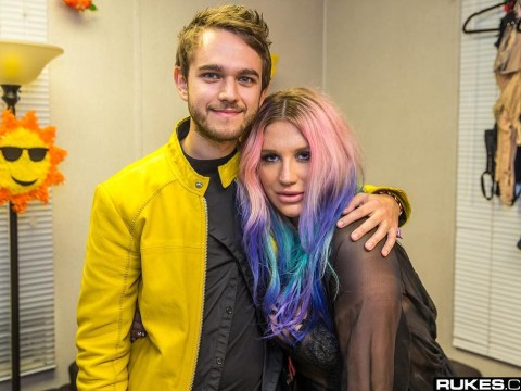 Kesha joined Zedd at Coachella for surprise performance of True Colours