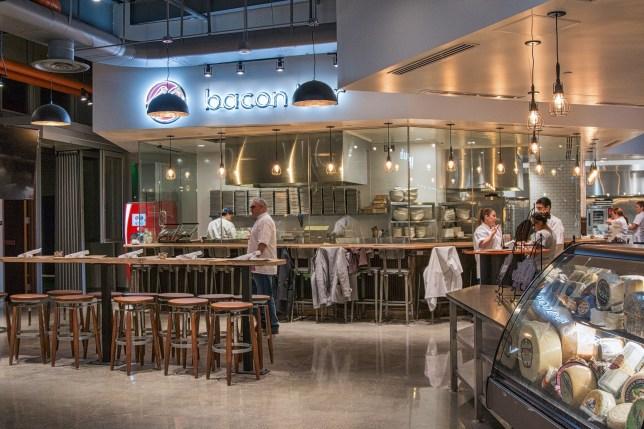 restaurant has a dedicated bacon bar Credit: Facebook/Saint Marc
