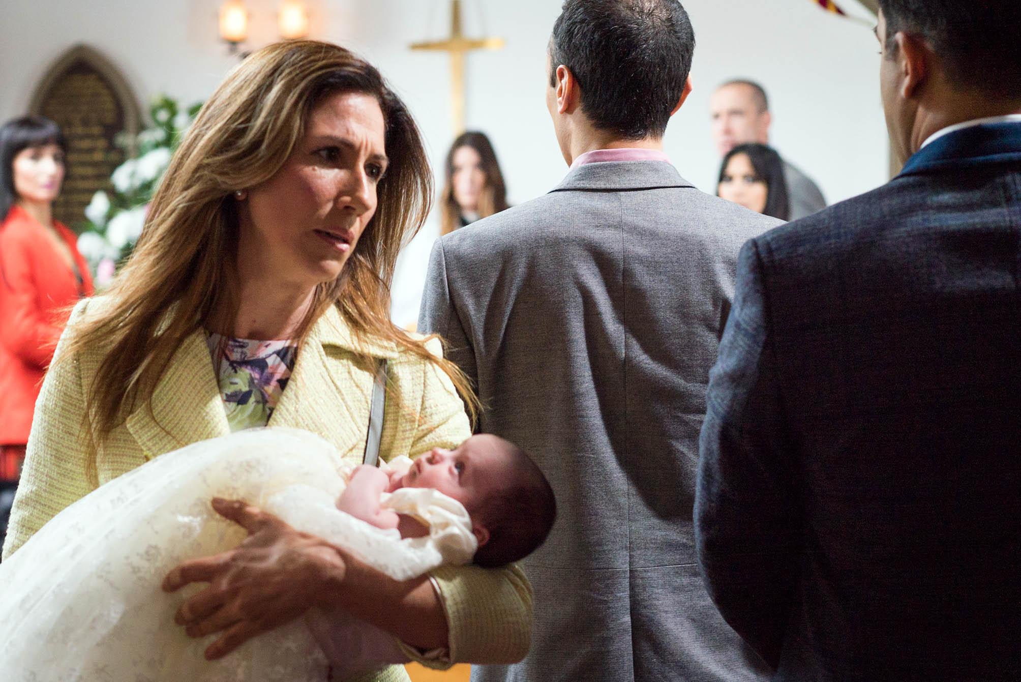 Emmerdale spoilers: Christening nightmare for Megan Macey