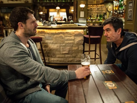 Emmerdale spoilers: Andy Sugden comes between Cain and Moira Dingle – and regrets it