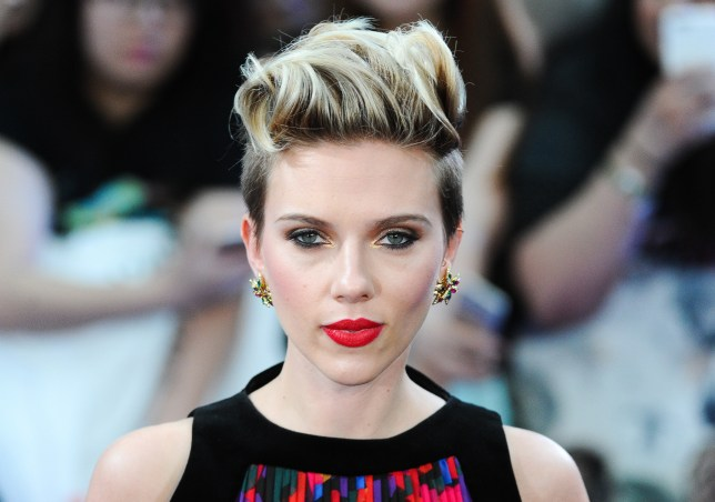 Scarlett Johansson has performed a cover of New Order's Bizarre Love Triangle with her band Sugar Sugar to help an AIDS research charity (Picture: Samir Hussein/Getty Images)