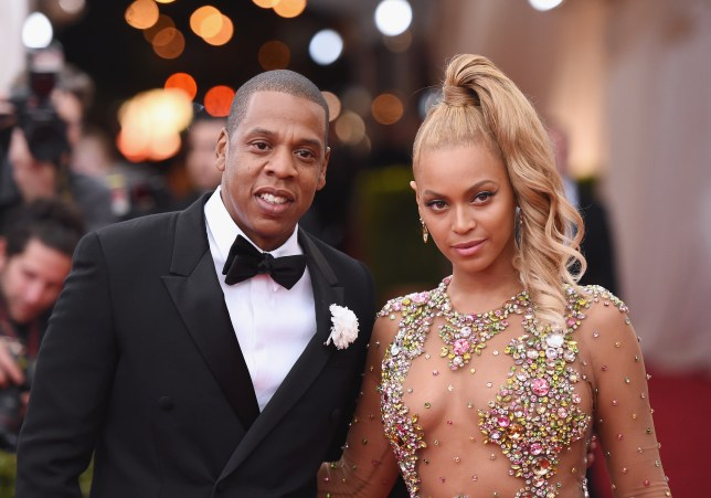 Jay Z and Beyonce put on a united front at the Met ball earlier this month (Picture: Mike Coppola/Getty Images)