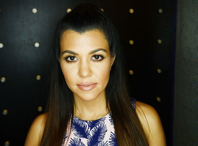 LAS VEGAS, NV - APRIL 12: Kourtney Kardashian makes a special appearance at Kardashian Khaos at The Mirage Hotel and Casino on April 12, 2014 in Las Vegas, Nevada. (Photo by Denise Truscello/WireImage)