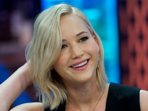 Jennifer Lawrence says she 'hasn't felt the touch of a man' for a while