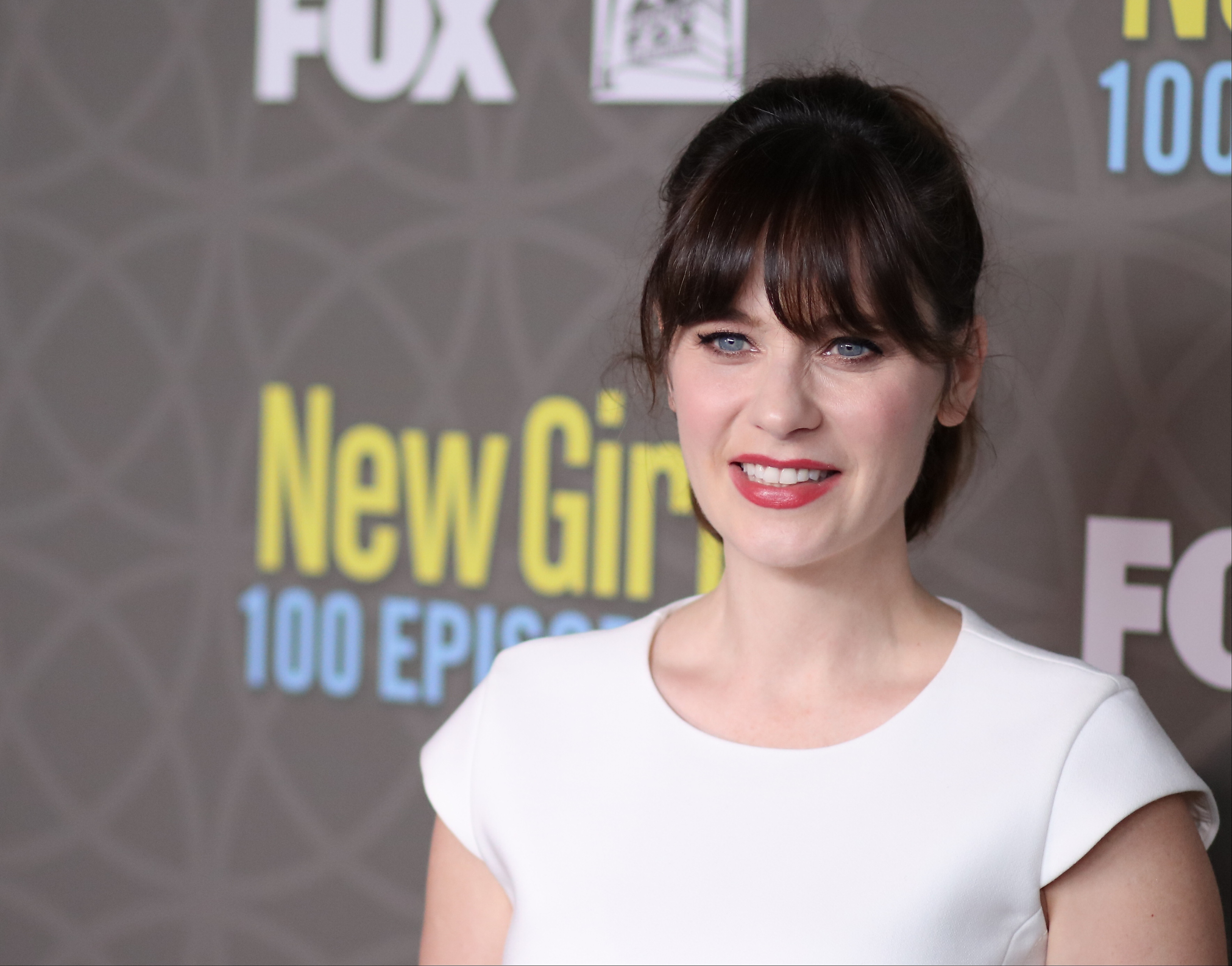 Zooey Deschanel is not impressed by post-pregnancy bodyshamers (Picture: JB Lacroix/WireImage)
