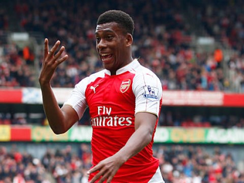 Alex Iwobi reveals inspirational advice from Arsenal hero Nwankwo Kanu