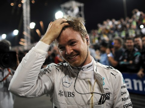 Bahrain Grand Prix: Lewis Hamilton recovers from collision to finish third as Rosberg wins again