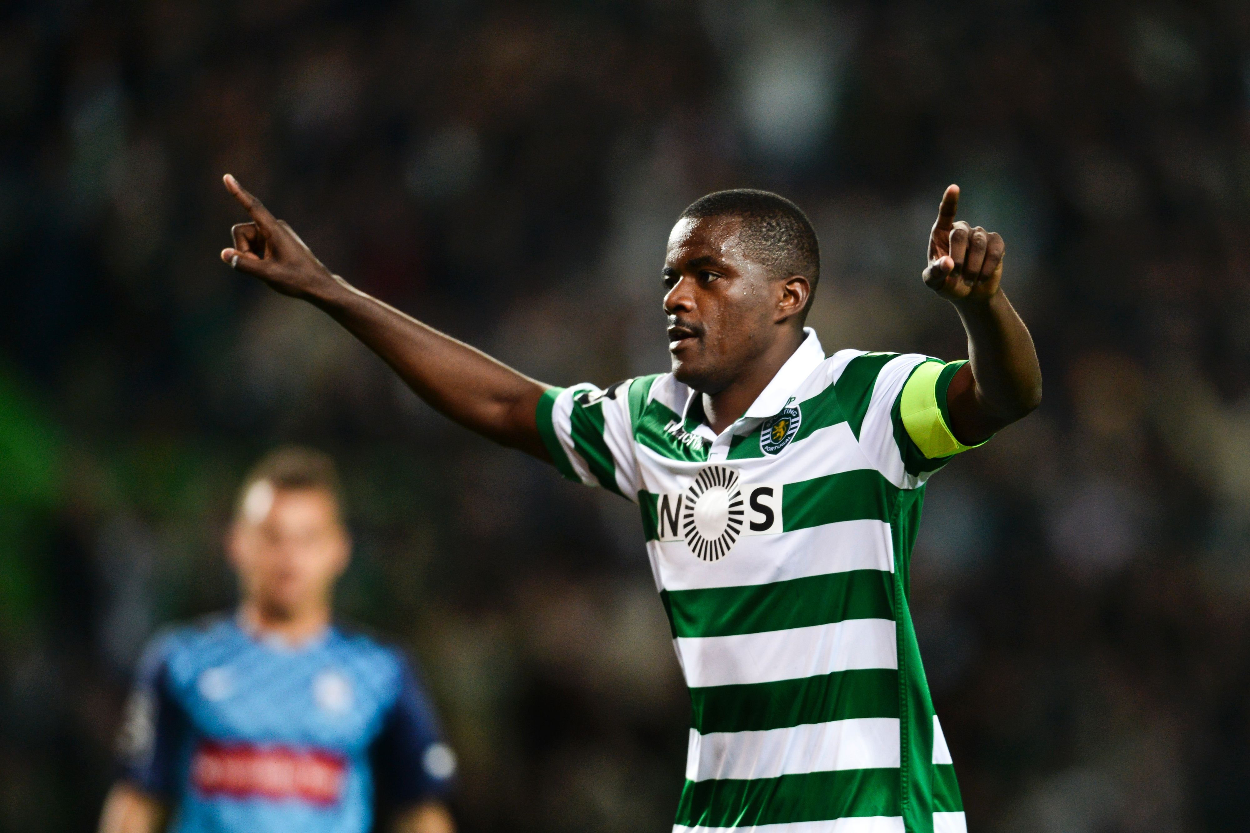 Manchester United scout William Carvalho and Joao Mario ahead of potential transfers
