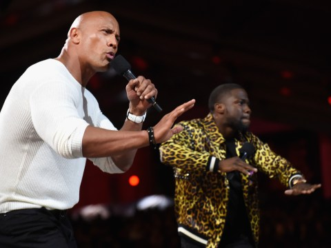 Dwayne Johnson and Kevin Hart to star in the reboot of Jumanji?