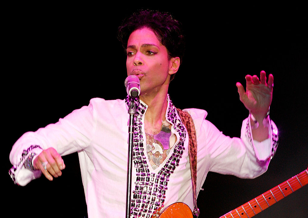 A fan has posted a picture from Prince's last ever gig and he's pretty happy he broke the photography rules